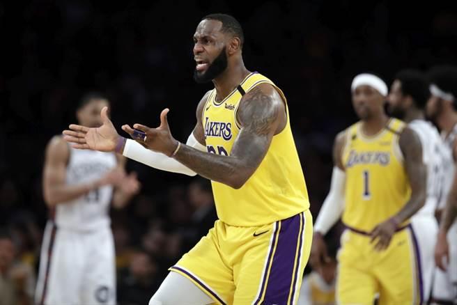 NBA》佛洛伊德事件 詹姆斯4天15次發言獲讚揚