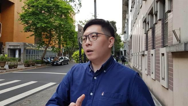 桃園市議長王浩宇。(中時資料照/黃捷攝)