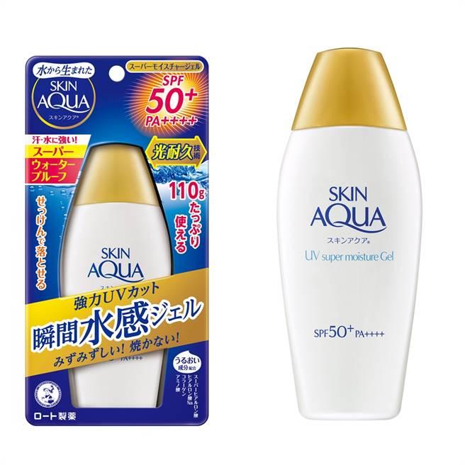水潤肌超保濕水感防曬露質地如水般保濕清爽,使用特殊的劑型包覆技術,將防曬成分包覆,減少紫外線直接破壞分子結構,增加吸收紫外線的時間,肥皂即可輕鬆卸除。(圖/品牌提供)