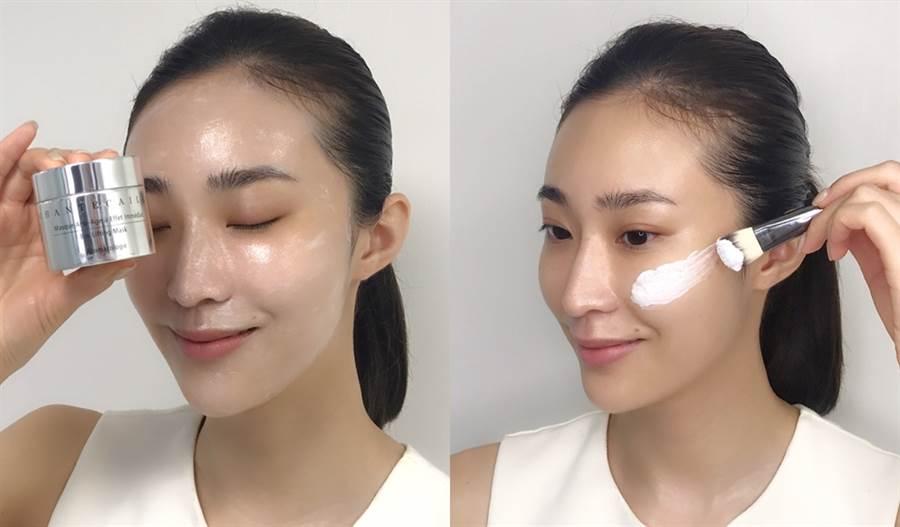 夏天來了肌膚容易乾燥缺水、再加上戴了近半年的口罩,來看看肌膚出狀況該怎麼保養才有感。(圖/品牌提供)
