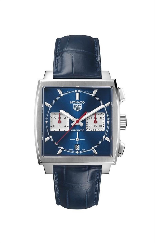 泰格豪雅Calibre Heuer 02 自動計時腕表,20萬1900元。(TAG Heuer提供)