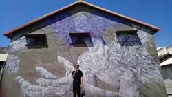 台東也有街頭藝術了!國際精品御用藝術家進駐漂鳥197