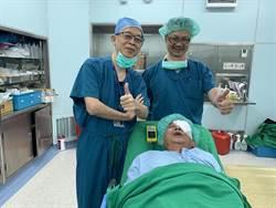 無法開眼手術 中醫大出動舒眠無痛靜脈注射麻醉