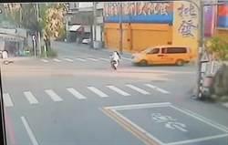 死亡交叉!行經路口未減速 汽機車對撞奪命