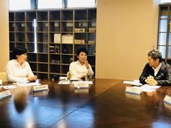 盧秀燕拜會文化部搶救國漫館 李永得允諾「優先留台中」