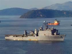 美軍艦再傳新冠疫情 登陸艦卡特霍爾號隔離
