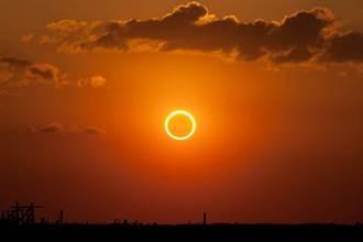 日環食6月21日登場 錯過再等195年