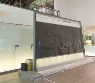 下雨漏水危及國寶?  國美館:未影響到《水牛群像》本體