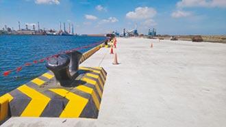 拚風電 中港最長重件碼頭完工
