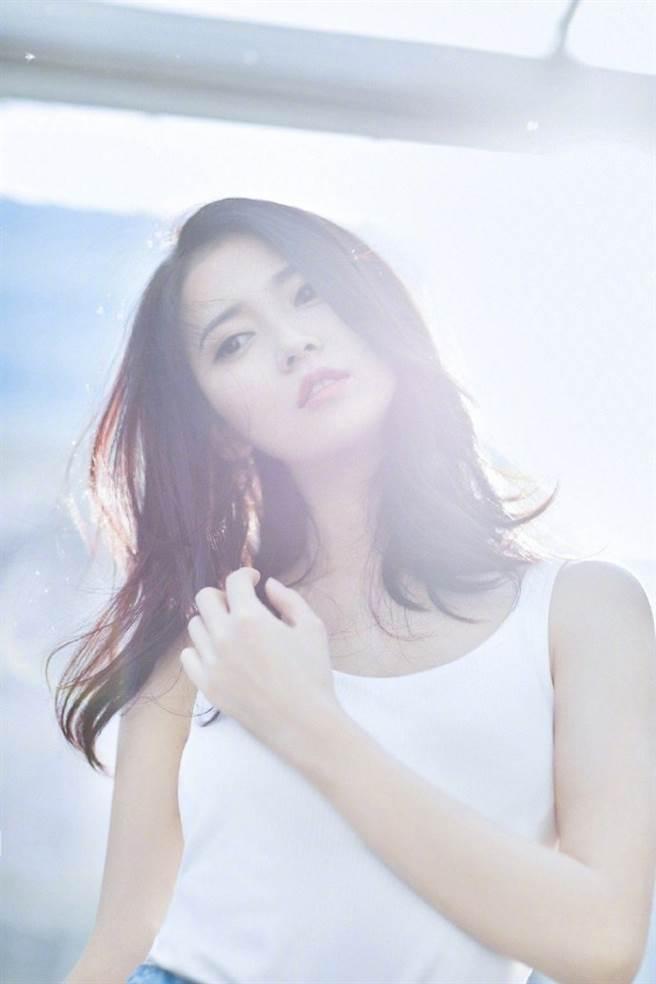 大陸女星陳鈺琪被封為「唐嫣接班人」。(圖/摘自微博@陳鈺琪Yukee)
