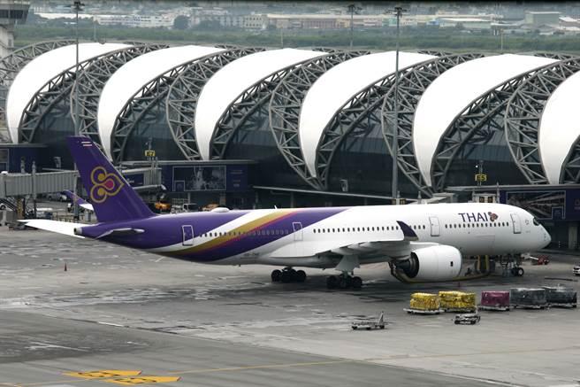 泰國航空是泰國的國家航空公司,但目前因疫情關係,已聲請破產保護。圖/美聯社