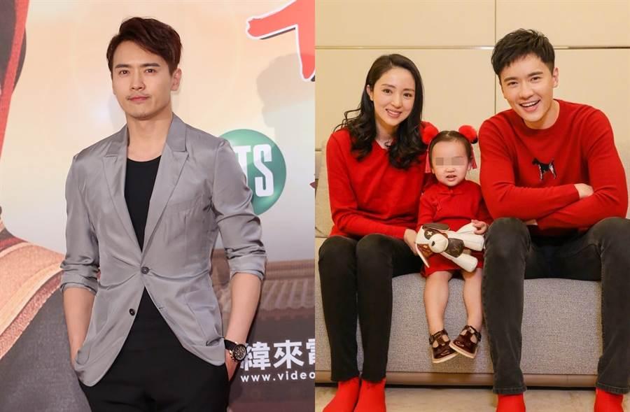 高雲翔和董璇去年離婚。(圖/中時資料照片;翻攝自董璇微博)
