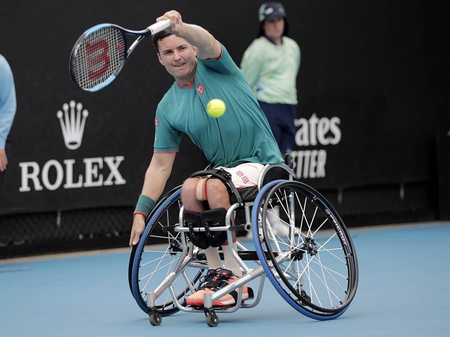 國際輪椅網球選手也有機會申請補助金。(資料照/美聯社)