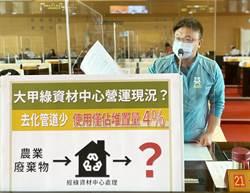 大甲綠資材成大問題 施志昌:去化量僅堆置量的4%!
