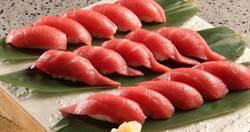 厚切黑鮪魚生魚片、握壽司吃到飽 三大品牌加量不加價