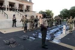 降低對抗 田納西國民兵應抗議者要求放下盾牌