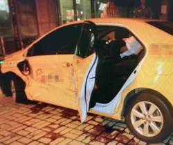 撞毀小黃傷乘客 員警酒駕肇事逃逸