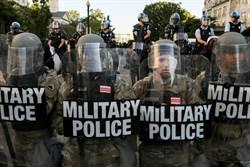 美媒:華府軍隊已提升至近戰時警戒狀態