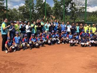 光隆國小棒球場啟用孕育少棒隊