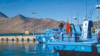 解放軍新艇 頻現中印邊境