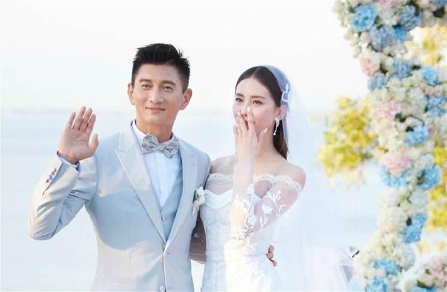 吳奇隆、劉詩詩對夫妻和育兒生活相當低調。(圖/取材自北京稻草熊影視微博)