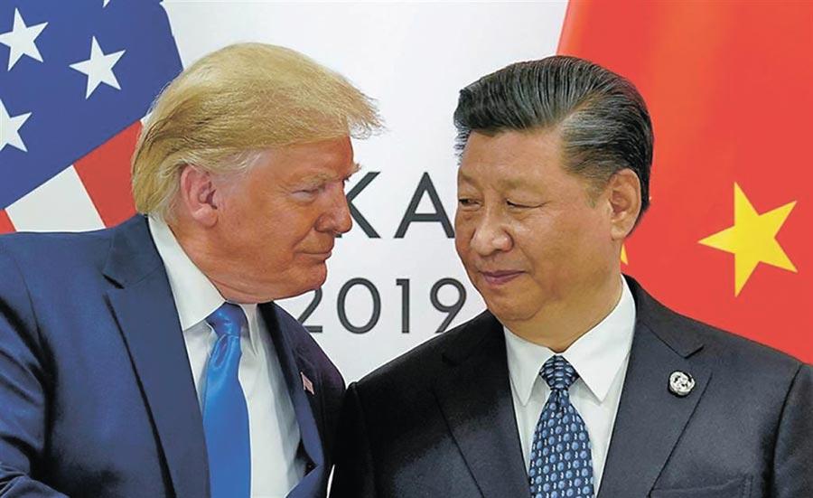美國總統川普不再以「好朋友」稱呼大陸領導人習近平。一般認為,這也顯示了雙方的關係日益緊張。(路透)