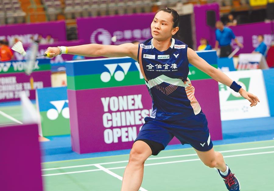 世界球后戴資穎是前年台北羽球賽女單冠軍,不過去年因故未參賽。(本報資料照片)