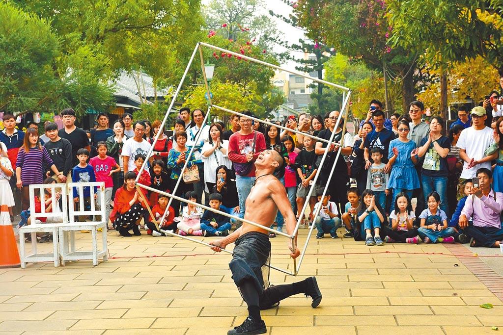 嘉義市文化創意產業園區,藝文表演展覽活動超吸睛。(嘉義市政府提供/廖素慧嘉義傳真)