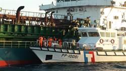 「空拍」神器搜證攔截 海巡強逮大陸非法盜砂船