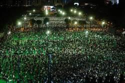 港府未批准維園集會 入夜後逾萬人聚集悼念