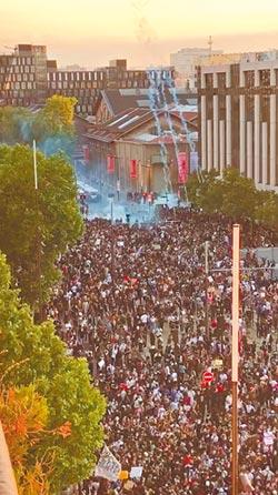 我們也不能呼吸 巴黎爆發大示威