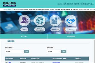 《台北股市》股東會電子投票助抗疫 集保強化外籍股東服務