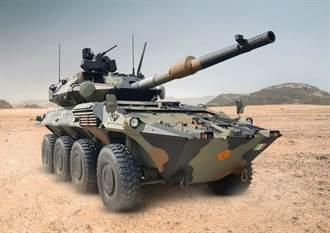 義大利訂購半人馬2型8輪戰車 具有120公釐主砲