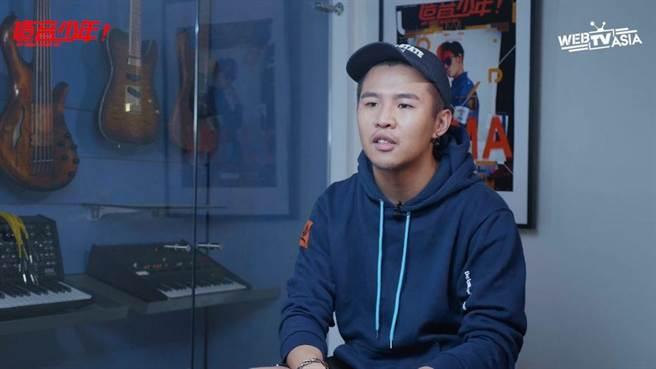 屁孩談音樂。(WebTVAsia Taiwan提供)