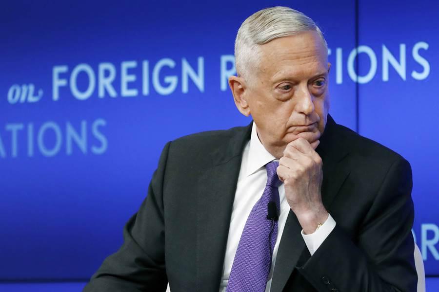 前任國防部長馬蒂斯退任後罕見打破沉默,直嗆川普是「威脅憲法的人」。(美聯社)