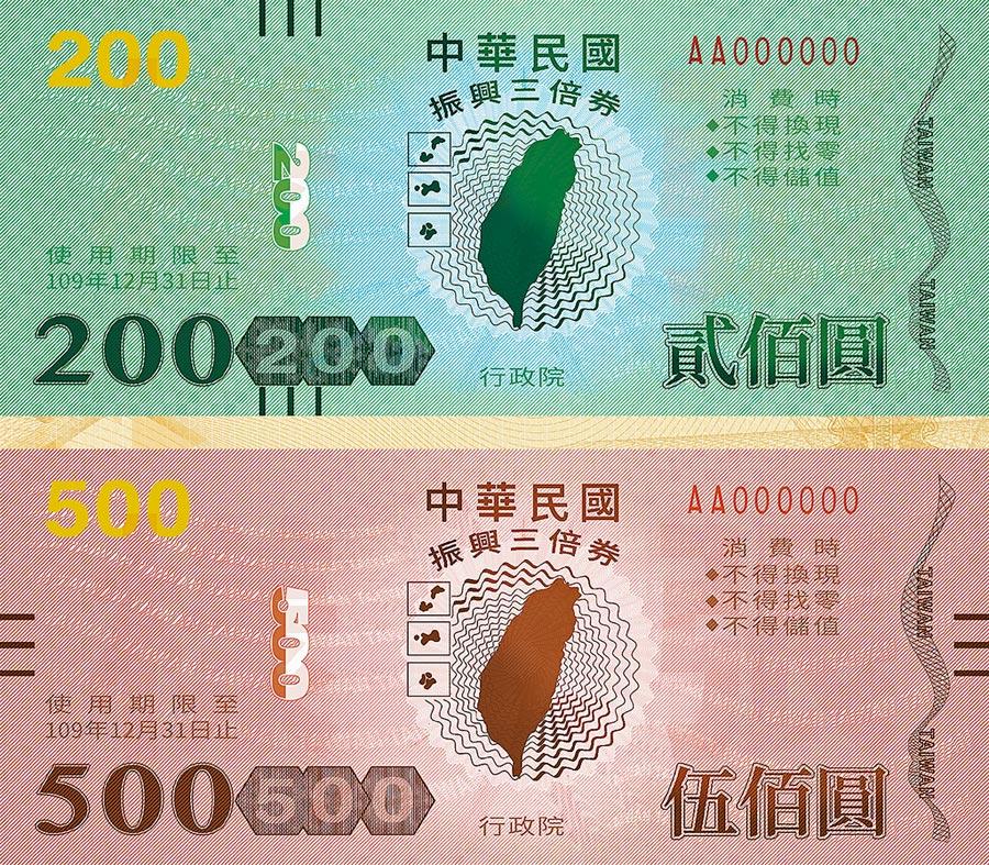 消基會昨日指出,政府不應對振興三倍券設使用期限。(行政院提供)