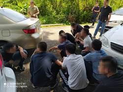 債務糾紛開槍傷人  宜蘭警2小時逮捕10名嫌犯