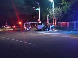 雲林救護車與小客車相撞 4人受傷送醫