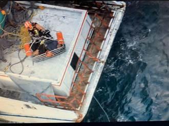 駕船太操船長昏迷不醒 船員嚇壞海巡急馳救命