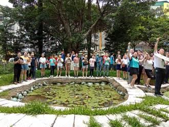 秀朗國小一校千樹行動 營造一座森林包覆的都會區學校