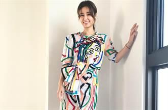 姐姐謝金燕、林心如都穿 MOSCHINO 春夏系列搶當大藝術家