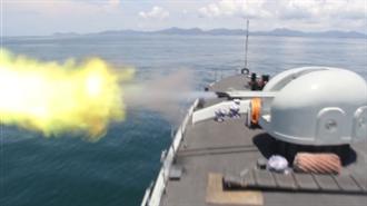 陸駐港海軍實彈訓練火力全開  模擬遭武裝漁船入侵
