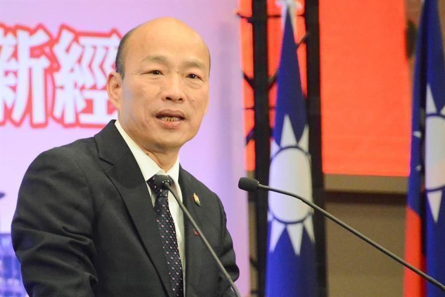 高雄市長韓國瑜。(圖/中時資料庫)