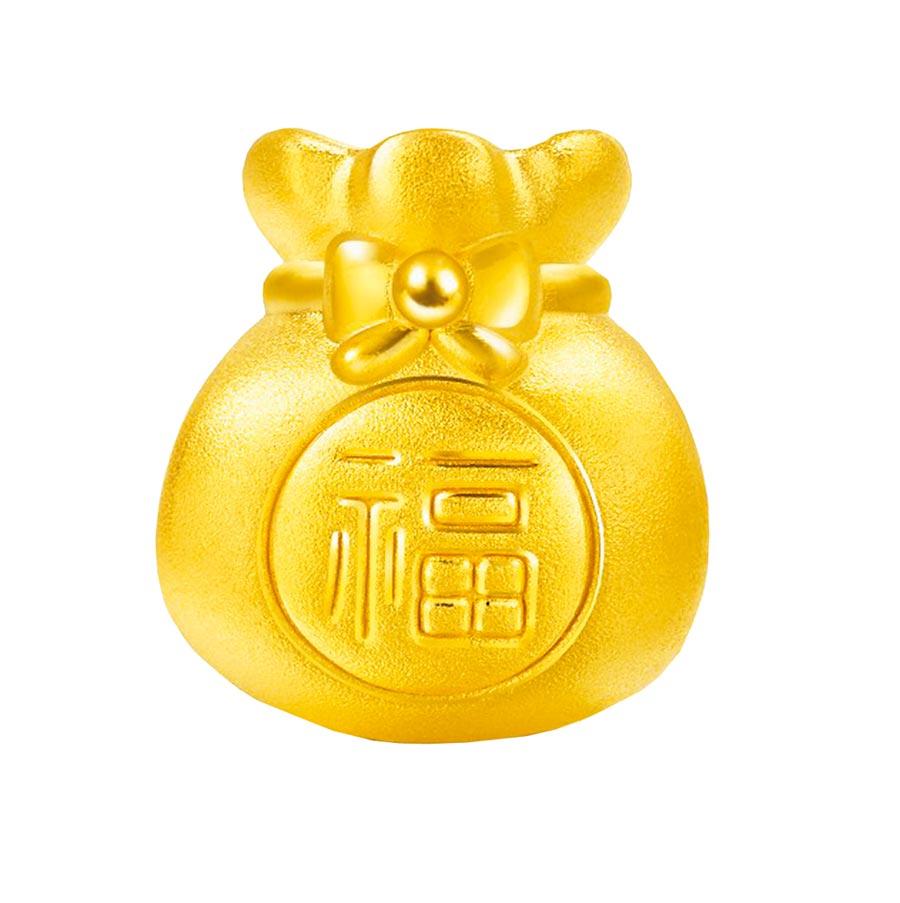 蝦皮購物上點睛品品牌旗艦店推出Charme幸運福袋黃金串珠優惠,原價5700元,特價4750元。(蝦皮購物提供)
