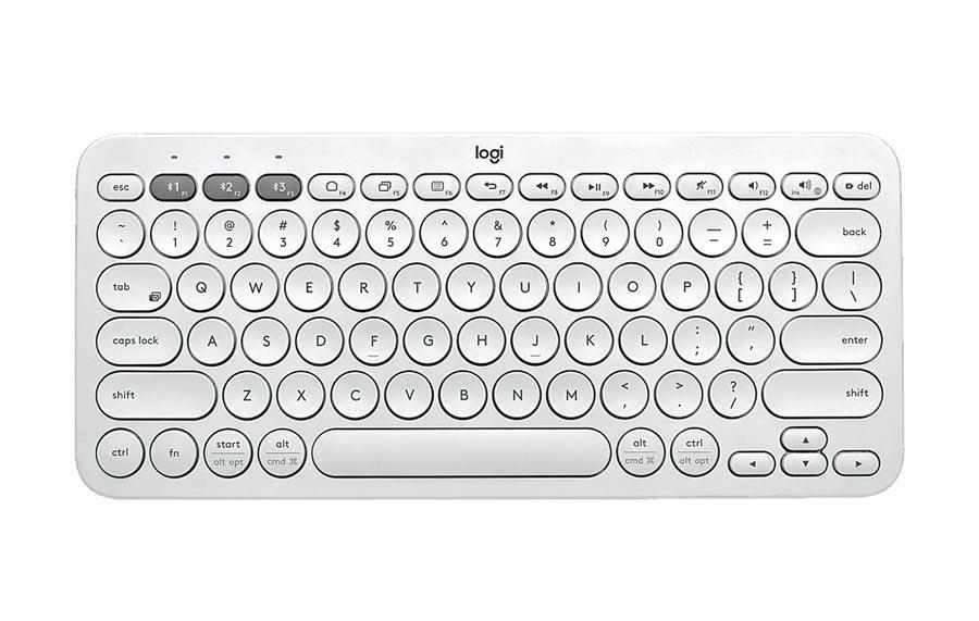蝦皮購物上Logitech品牌旗艦店推出K380多工藍牙鍵盤及M350鵝卵石無線滑鼠優惠,原價1689元,特價1380元。(蝦皮購物提供)