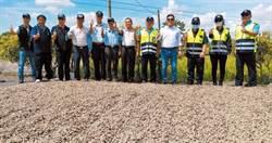 花生曬馬路被取締 虎尾公所申請3萬坪路權供農民使用