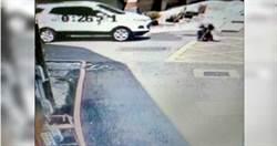 毒蟲拒檢倒車衝撞 員警彈飛1公尺下半身多處骨折