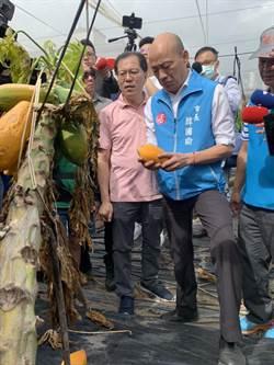 韓國瑜到旗山糖廠社區了解農村旅遊 對罷韓投票結果表示:完全尊重