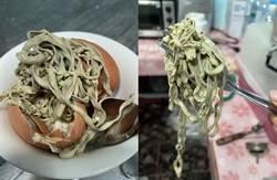 煮熟雞蛋打開一坨爛麵條 專家驚曝不是寄生蟲!