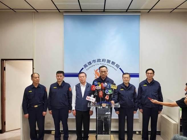 警政署指揮所進駐高雄,署長陳家欽在高市警局接受媒體聯訪。圖為資料照。(劉宥廷攝)